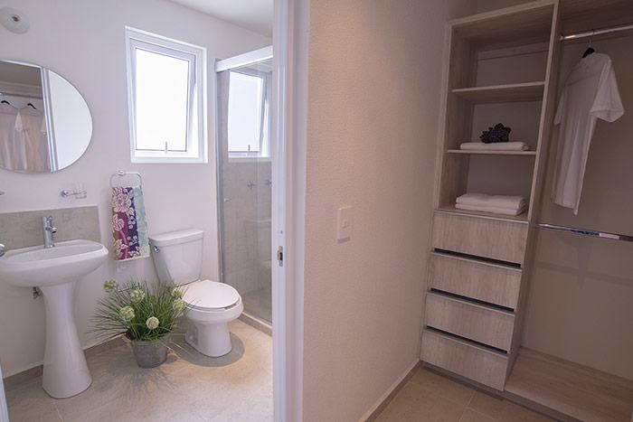 baño casa modelo tabachín tres cantos residencial querétaro