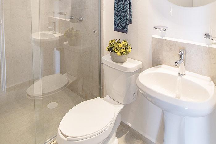 baño departamento modelo olmo tres cantos residencial querétaro