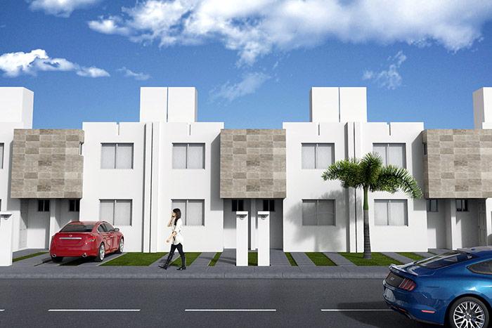 casa modelo ebcino 3r cordillera residencial, guanajuato