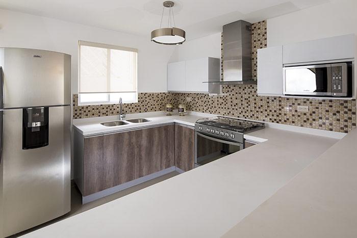 cocina casa modelo alfaro sierra vista residencial guadaluoe nuevo león