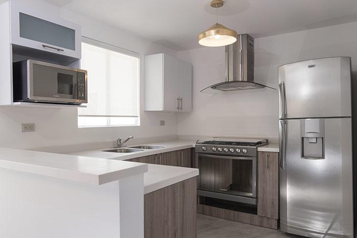 cocina casa modelo arnedo sierra vista residencial guadaluoe nuevo león