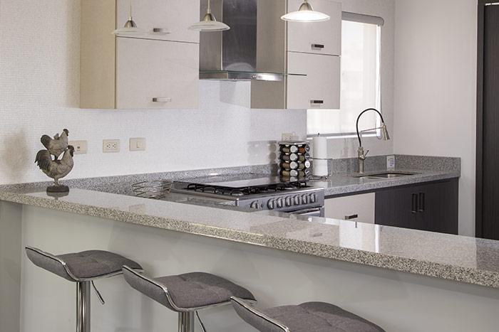 cocina casa modelo berceo cumbres de la rioja nuevo león