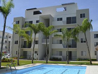 Departamentos en Playa del Carmen Quintana Roo en Paseo los Olivos