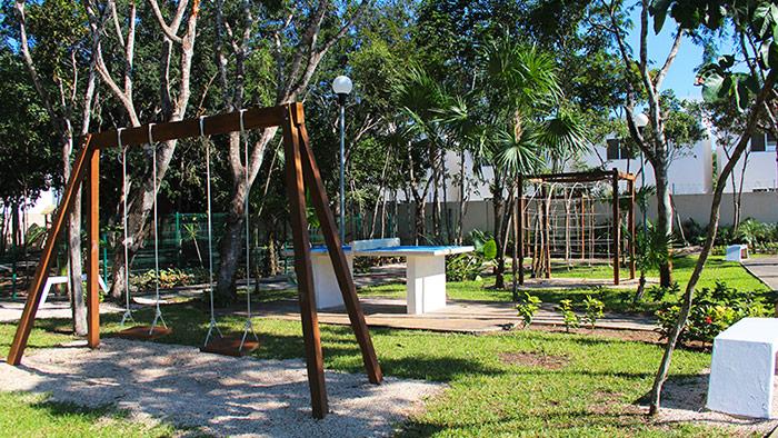 juegos infantiles los olivos 3 playa del carmen, quintana roo
