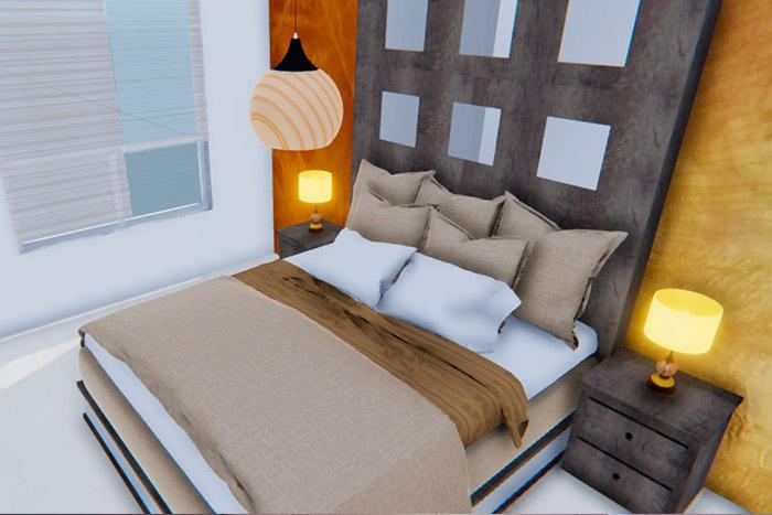 recámara principal casa modelo ápice acento residencial, ciudad juárez chihuahua