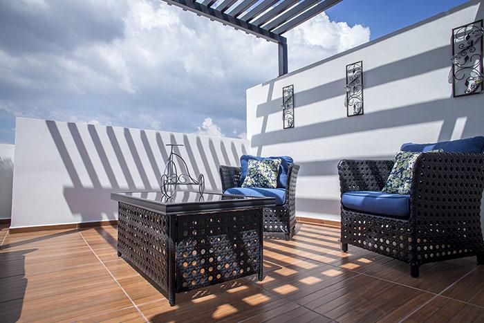 roof garden casa modelo ceiba cordillera residencial, guanajuato