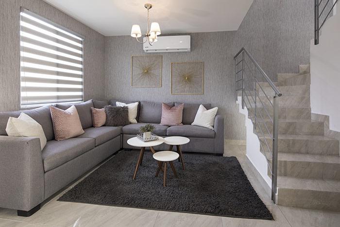 sala casa modelo san pablo sierra vista residencial guadaluoe nuevo león