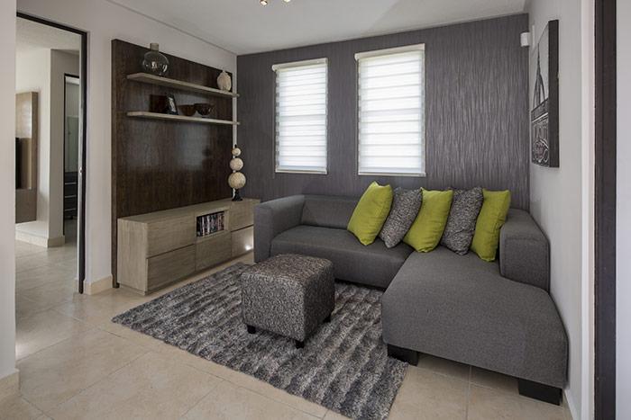 sala de uv casa modelo escaray valle la rioja, apodaca nuevo léon
