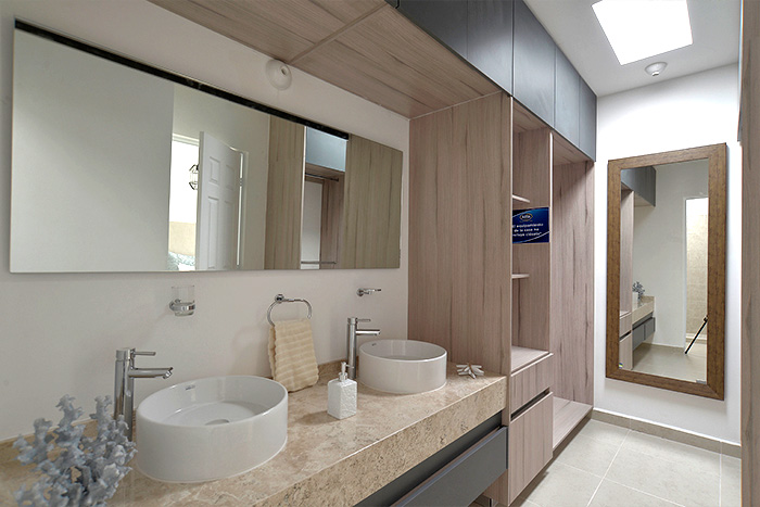 baño principal casa modelo jacaranda rancho santa mónica aguascalientes
