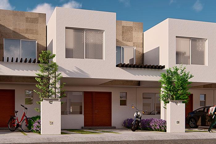 Casa modelo almendro tres cantos residencial querétaro