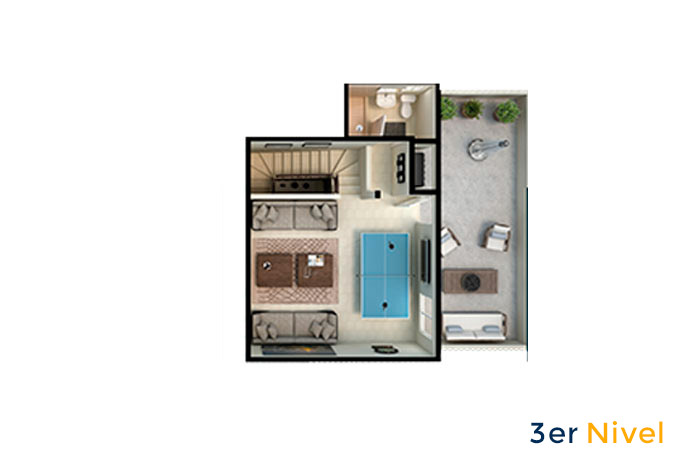 terraza modelo ápice acento residencial ciudad juárez chihuahua