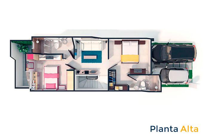 planta alta modelo colmenar platino tres cantos puebla cuautlancingo puebla