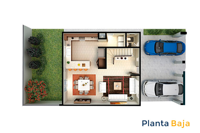 planta baja modelo ápice acento residencial ciudad juárez chihuahua