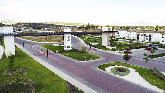 Acceso Tres Cantos Residencial Querétaro