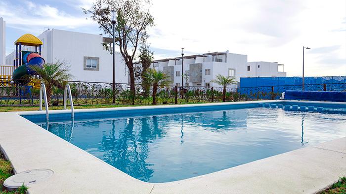 Alberca Tres Cantos Residencial Puebla