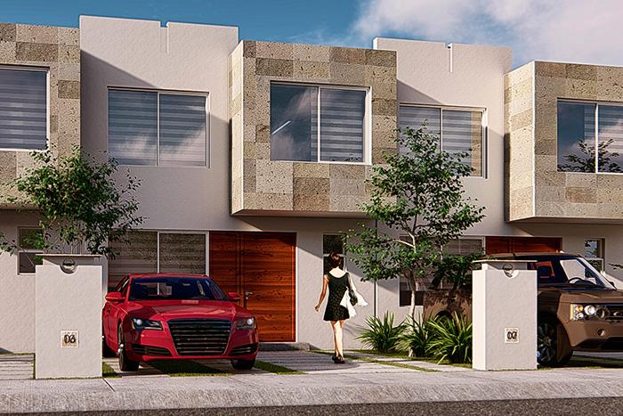 Casa modelo cedro tres cantos residencial querétaro