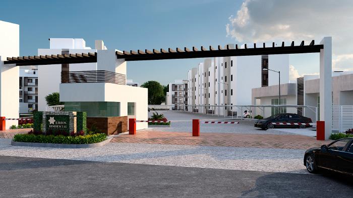 Acceso Lirios Residencial Cancún Quintana Roo
