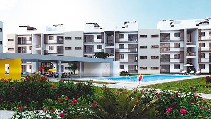 Alberca Lirios Residencial