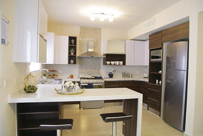 Cocina casa modelo santa sofía viñedos residencial chihuahua