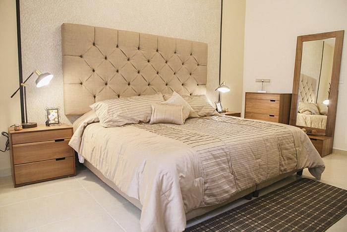 Recámara principal casa modelo santa sofía viñedos residencial chihuahua