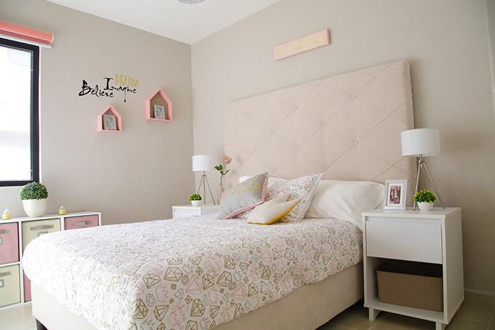 Tercera recámara casa modelo santa sofía viñedos residencial chihuahua