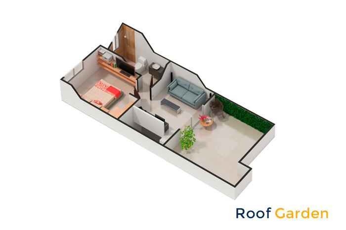 roof garden modelo santiago tres cantos puebla cuautlancigo puebla