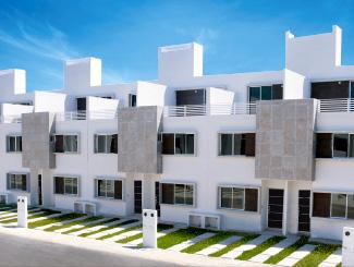 Casa modelo Ceiba, Frontemare conjunto residencial en Playa del Carmen, Quintana Roo