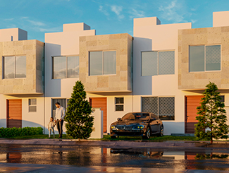 Casa modelo Cedro, Paseos del Bosque 3 Residencial, Querétaro