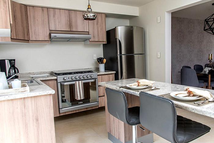 Cocina casa modelo Fresno, Paseos del Bosque 2