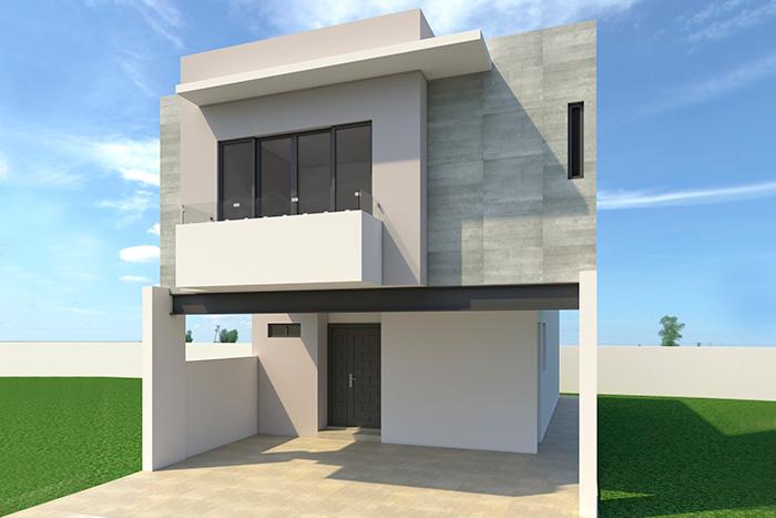 Casa modelo Luna 2 Niveles, Cumbre Altta